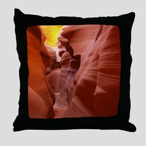The Lower Antelope Slot Canyon Throw Pillow