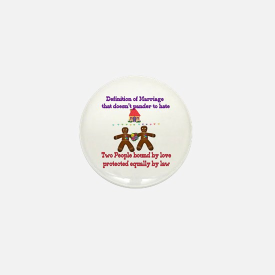 Gay Marriage Mini Button