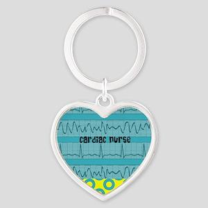 Cardiac Nurse all over 3 Keychains