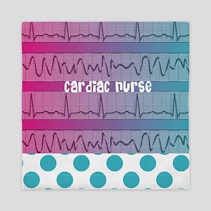 Cardiac Nurse all over shirt Queen Duvet