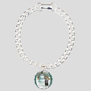 Manchester Terrier Chris Charm Bracelet, One Charm