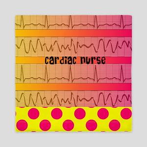 Cardiac Nurse all over shirt 2 Queen Duvet