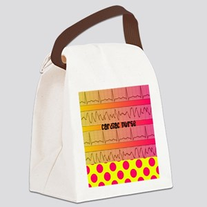Cardiac Nurse all over shirt 2 Canvas Lunch Bag
