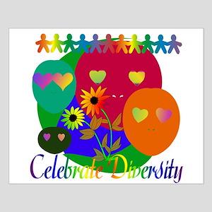Celebrate Diversity Small Poster