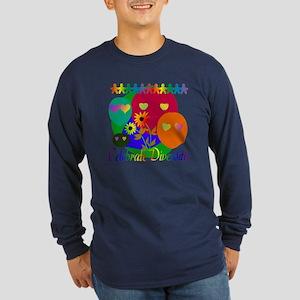 Celebrate Diversity Long Sleeve Dark T-Shirt