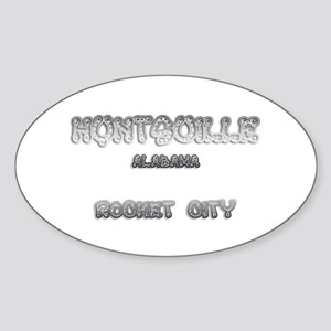 Huntsville Alabama Rocket City 1 Sticker