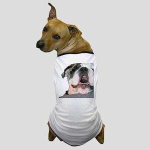 Bulldog Face Dog T-Shirt