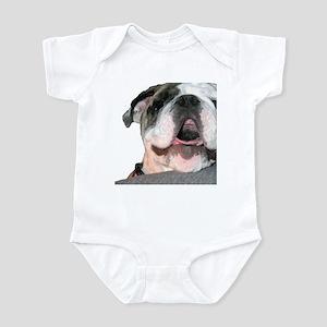Bulldog Face Infant Bodysuit