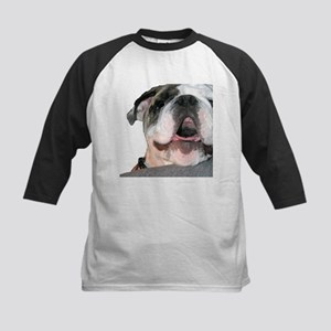 Bulldog Face Kids Baseball Jersey