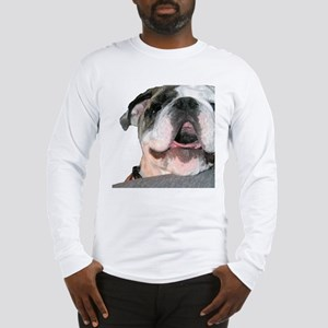 Bulldog Face Long Sleeve T-Shirt