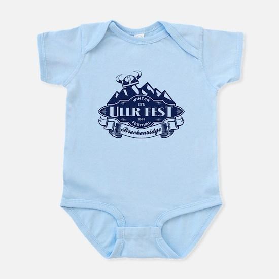 Ullr Fest Mountains Blue Infant Bodysuit