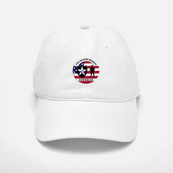 2nd Infantry Division Veteran Baseball Cap