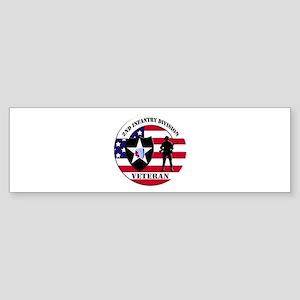 2nd Infantry Division Veteran Bumper Sticker