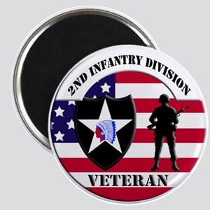 2nd Infantry Division Veteran Magnet