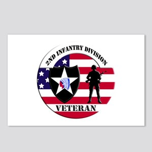 2nd Infantry Division Veteran Postcards (Package o