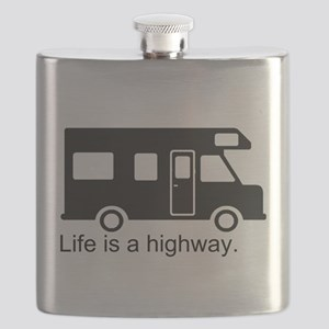 Life is a highway. Flask