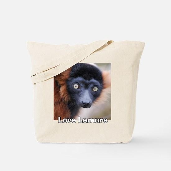 Love Lemurs Tote Bag