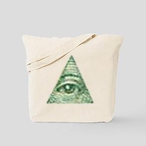 ALL Seeing EYE X Tote Bag
