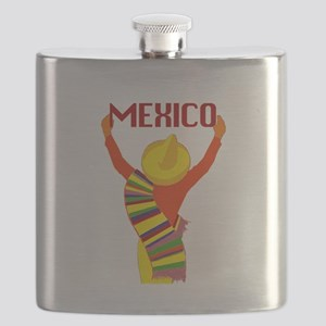 Vintage Mexico Travel Flask