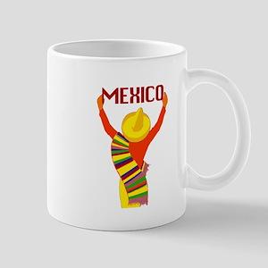 Vintage Mexico Travel Mug