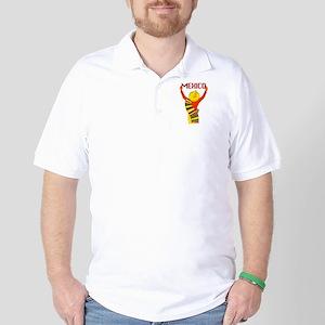 Vintage Mexico Travel Golf Shirt