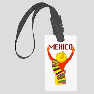 Vintage Mexico Travel Luggage Tag