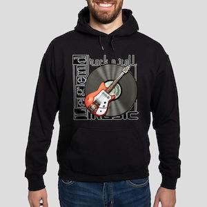 Vintage Guitar Hoodie (dark)