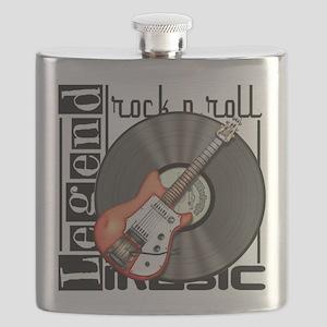 Vintage Guitar Flask
