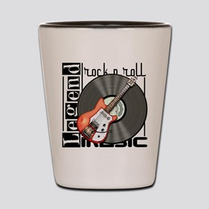 Vintage Guitar Shot Glass