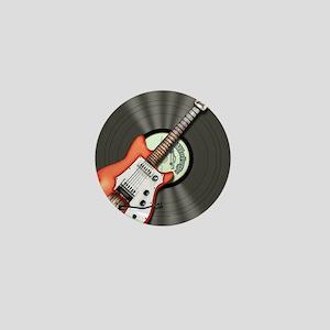 Vintage Guitar Mini Button