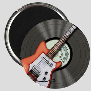 Vintage Guitar Magnet
