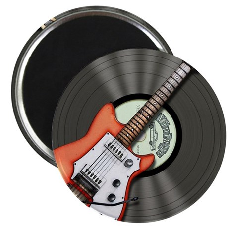 """Vintage Guitar 2.25"""" Magnet (10 pack)"""