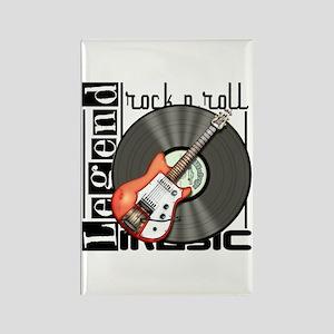 Vintage Guitar Rectangle Magnet