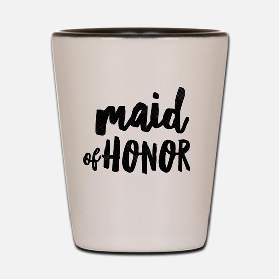Wedding Party- Maid of Honor Shot Glass