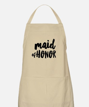 Wedding Party- Maid of Honor Light Apron