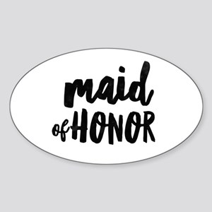 Wedding Party- Maid of Honor Sticker