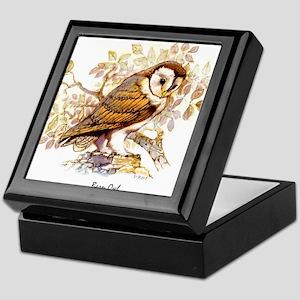 Barn Owl Peter Bere Design Keepsake Box