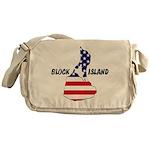 Block Island USA Messenger Bag