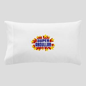 Abdullah the Super Hero Pillow Case