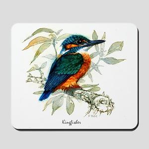 Kingfisher Peter Bere Design Mousepad