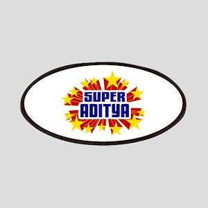 Aditya the Super Hero Patches