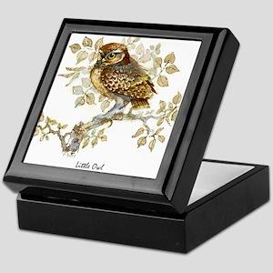 Little Owl Peter Bere Design Keepsake Box