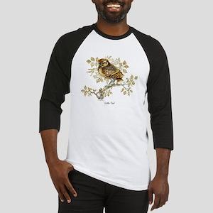 Little Owl Peter Bere Design Baseball Jersey