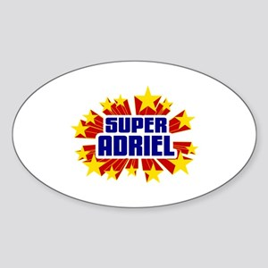 Adriel the Super Hero Sticker
