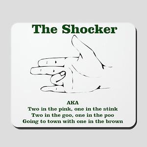 The Shocker...AKA...... Mousepad