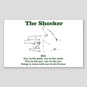 The Shocker...AKA...... Rectangle Sticker