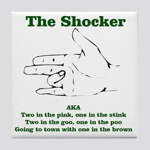 The Shocker...AKA...... Tile Coaster