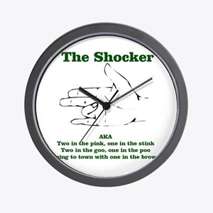 The Shocker...AKA...... Wall Clock