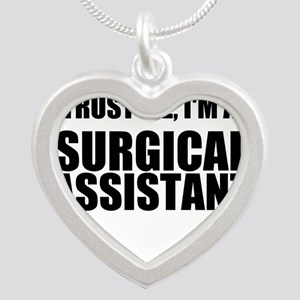 Trust Me, Im A Surgical Assistant Necklaces