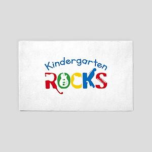 Kindergarten Rocks Area Rug